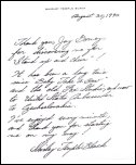 Shirley Temple Letter